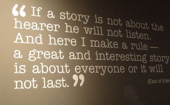 John Steinbeck quote - image by Jill Clardy