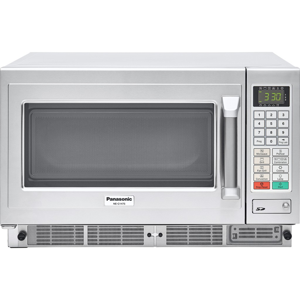 panasonic prof combi microwave oven ne c1475 1350 w touch buttons