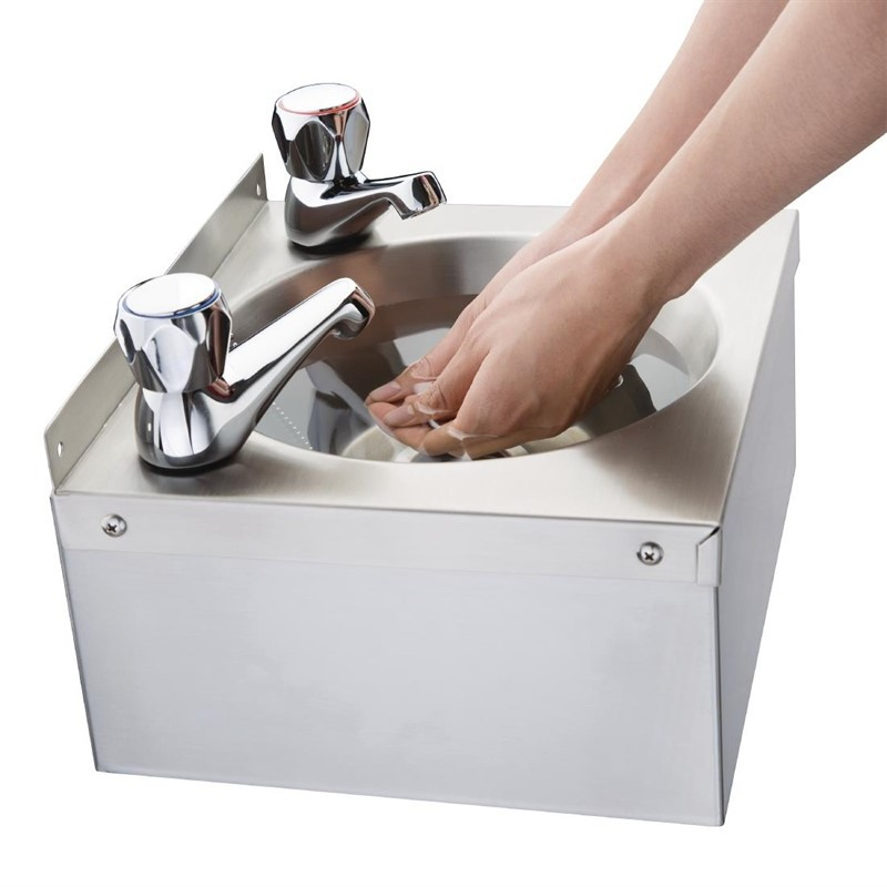 vogue stainless steel mini hand sink