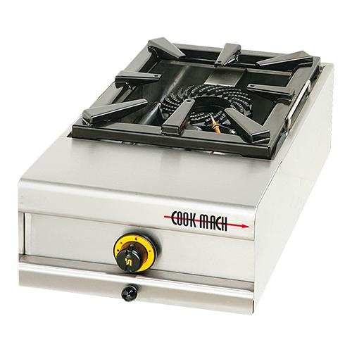Illustratie: afbeelding van het 1-pits kooktoestel van Cook Mach