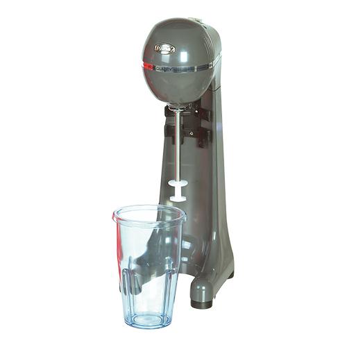 Illustratie: foto van de antraciet grijze uitvoering van het milkshakeapparaat van Johny.