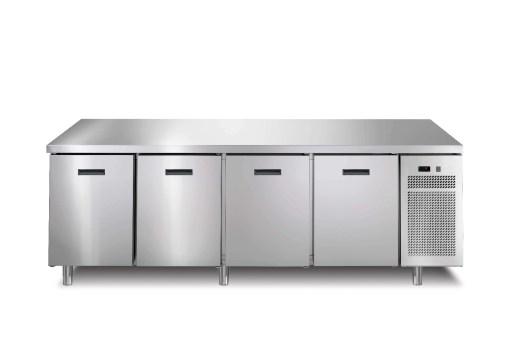 Afinox Vrieswerkbank Linear 700 - 4 deurs - 704 I/A BT