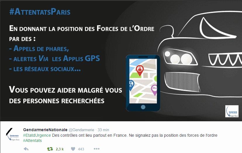Gendarmerie 18-11-2015