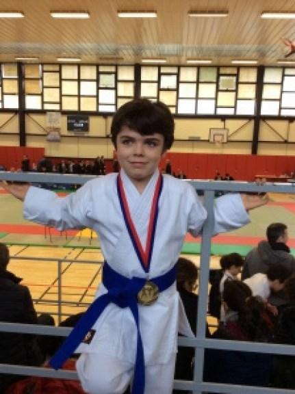 Vainqueur de l'Open en Kata pupille masculin !