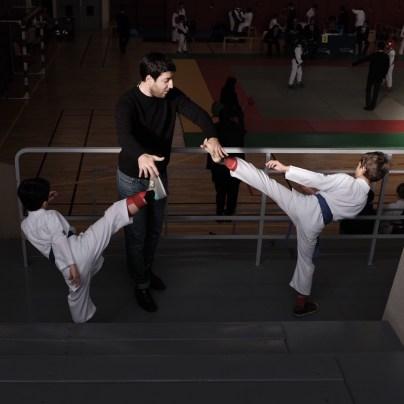 entraînement mawashi-geri