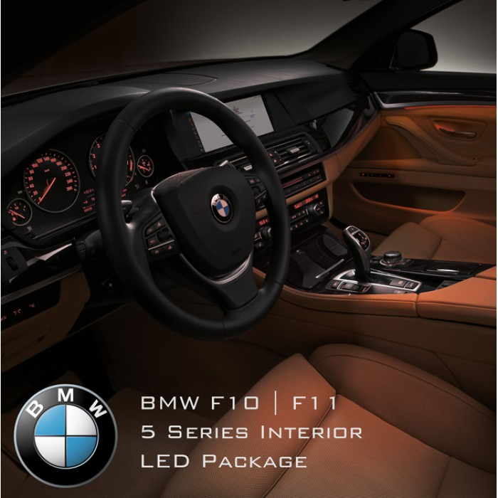 BMW 5 Series F10 F11 M5 Interior LED Light Kit