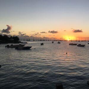 coucher de soleil voyage Martinique