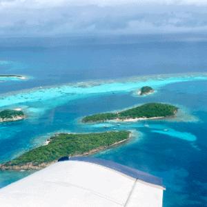 voyage dans les îles paradisiaques - grenadines survol voyage mystère de luxe