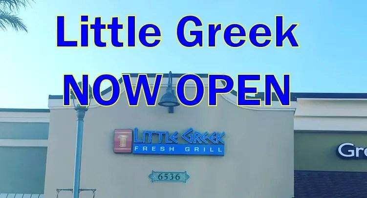 Little Greek Now Open