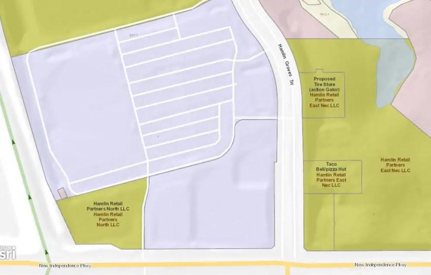 Action Gator Tire Hamlin Map