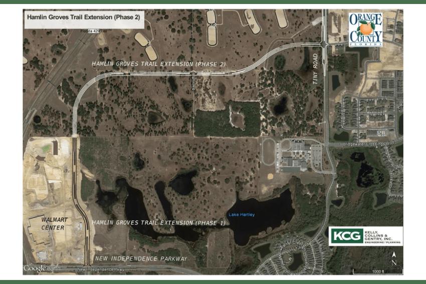 Horizon West Hamlin Groves Trail Extension