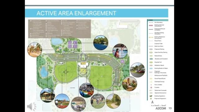 Horizon West Regional Park - Active Area Enlargement