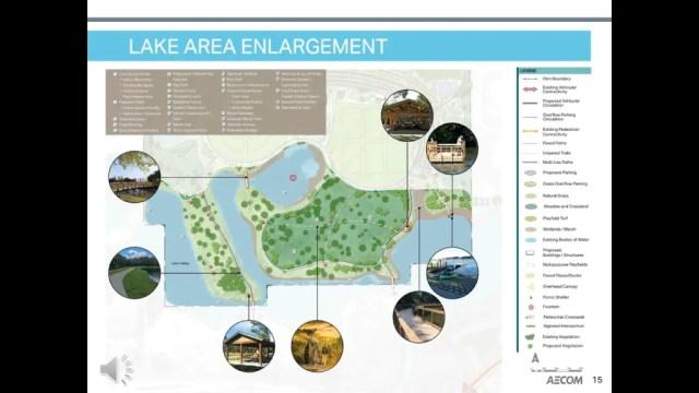 Horizon West Regional Park - Lake Area Enlargement