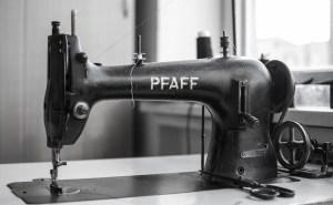 Šicí stroj PFAFF, Zakázkové krejčovství Horký a syn