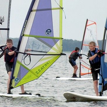 windsurfing - na obozach HORN