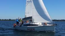 Następny nowy jacht na Hornie!