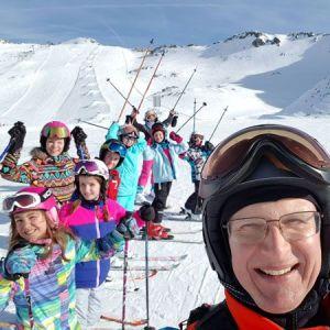Obóz zimowy horn