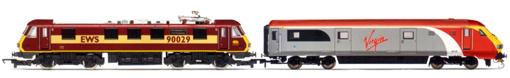 Review: Hornby Virgin Charter Relief Set (Class 90 & DVT) (1/6)