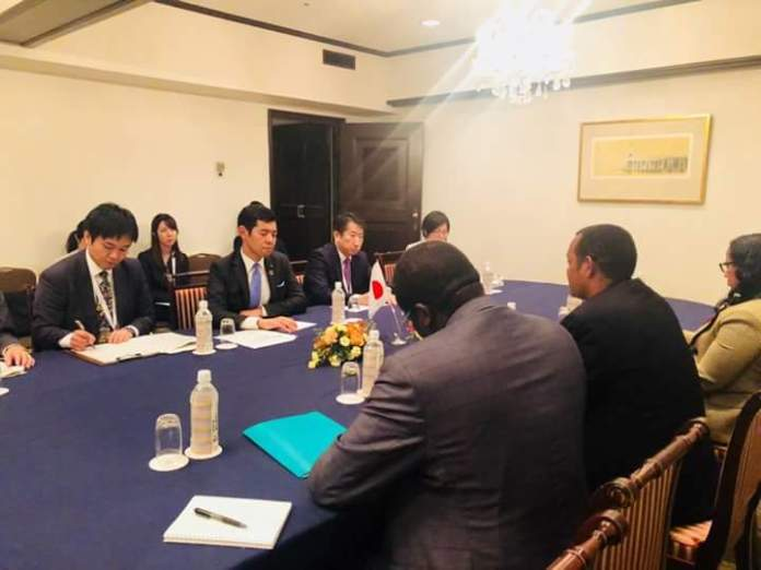 Japan cooperates with Ethiopia on Horn of Africa peace and stability