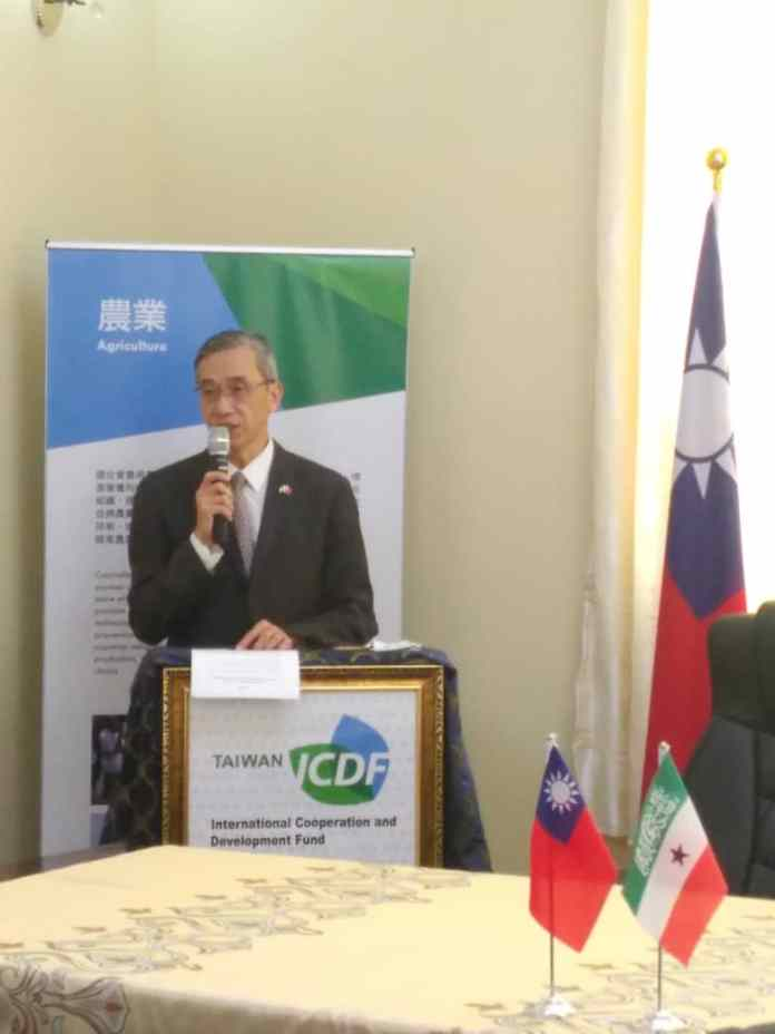 Ambassador Allen Lou of Taiwan Representative Office in the Republic of Somaliland