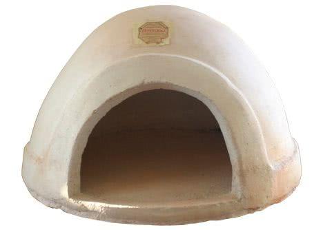 horno de barro refractario a leña