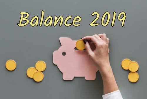 balance 2019 -   le travail et  l'argent