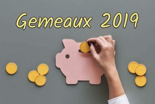 Gemeaux 2019 -  le travail et  l'argent