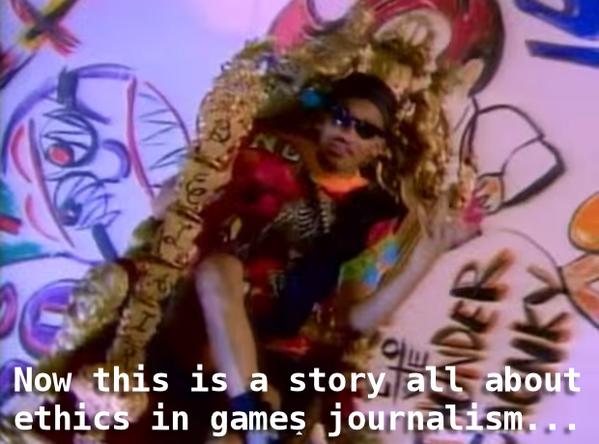 ethics in games journalism
