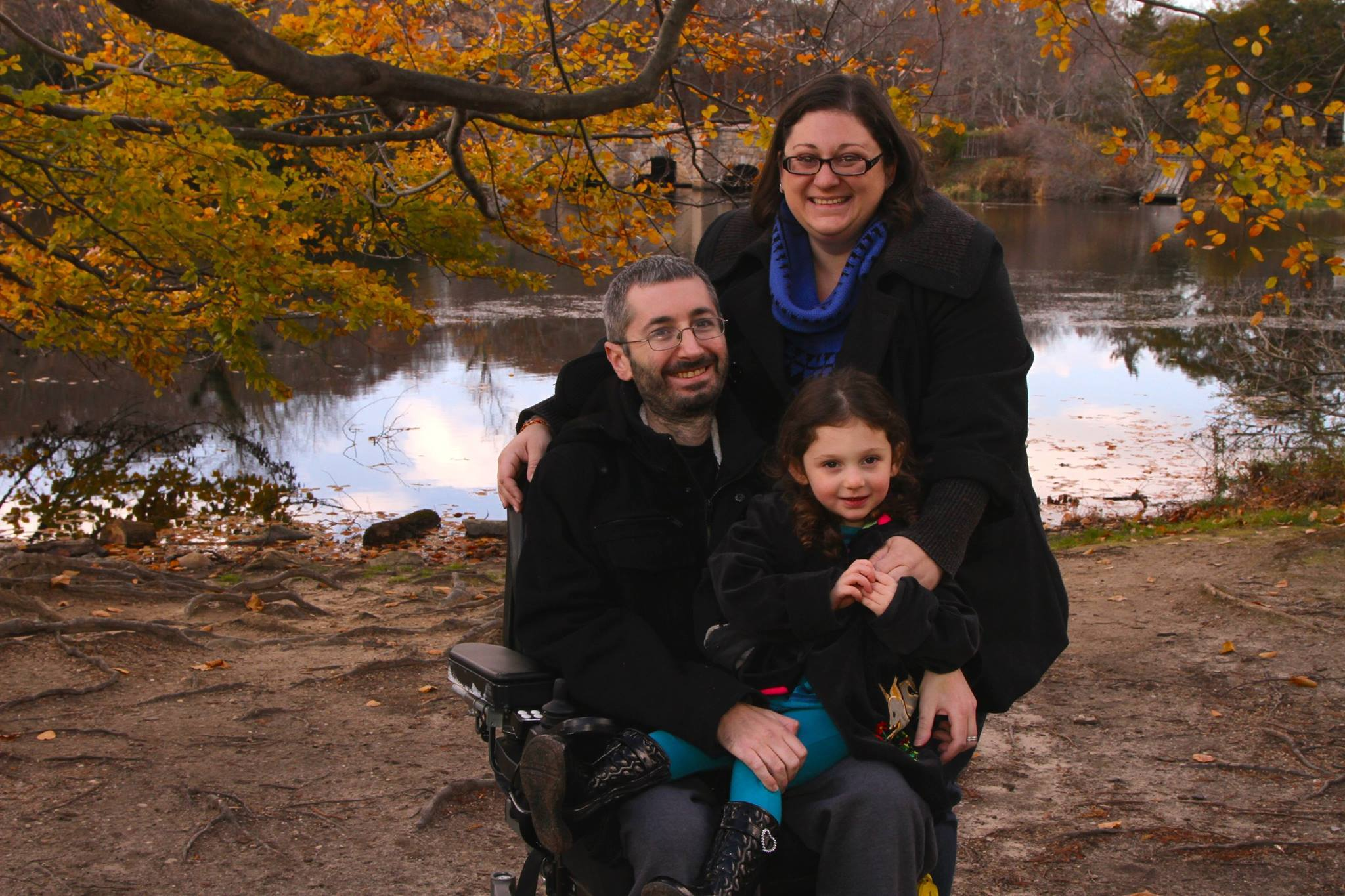 """I've Never Given up Hope"" —  Scott Gingold on His Activism, Family, and ALS"
