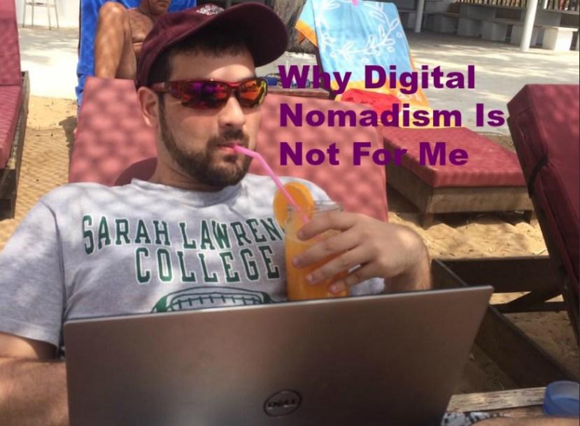 disadvantages of being a digital nomad
