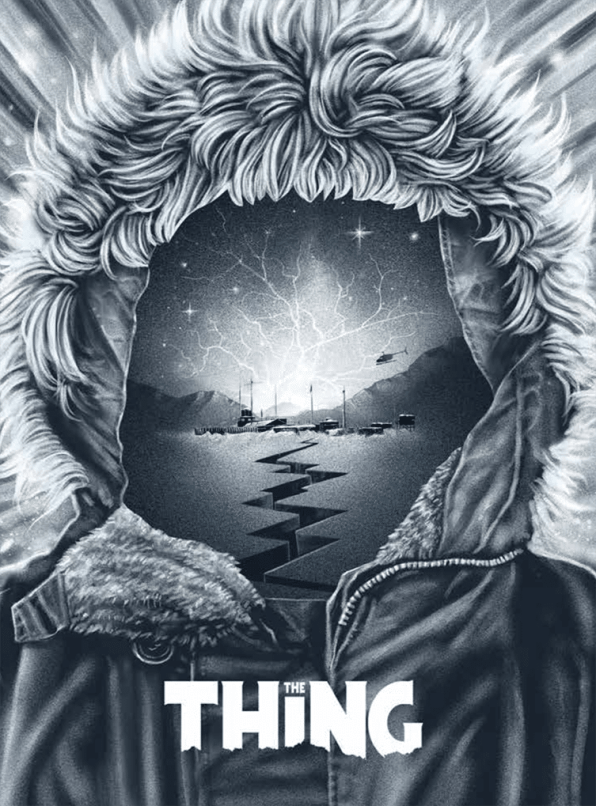 The Thing, Arrow Video jaquette Blu-ray, 2017
