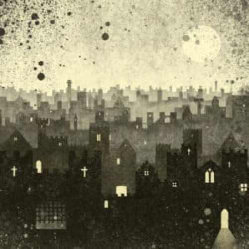 Gormenghast-inspired illustration by Sarah Coomer