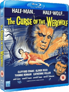 The Curse of the Werewolf Blu Ray cover
