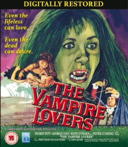 The Vampire Lovers blu ray