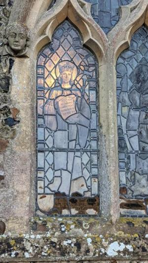 Light in the church windows