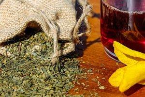 organic and natural herbs