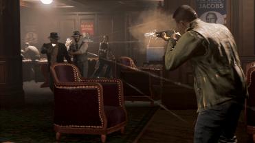 Mafia 3 - E3 Screenshot - kill lou firefight © 2016 2K Games