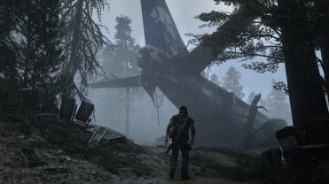 Days Gone - Plane Crash ® 2016 capcom Sony Interactive Entertainment