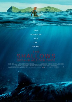 The Shallows Hauptplakat © 2016 Sony Pictures Releasing GmbH