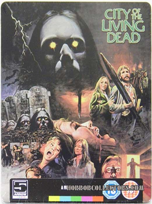CITY OF THE LIVING DEAD UK ARROW BLU-RAY STEELBOOK