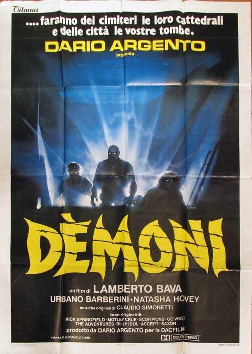 Demoni Italian 2 Foglio Poster