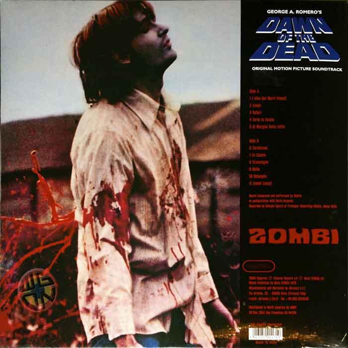 DAWN OF THE DEAD ITALIAN GOBLIN SOUNDTRACK DAGORED VINYL LP