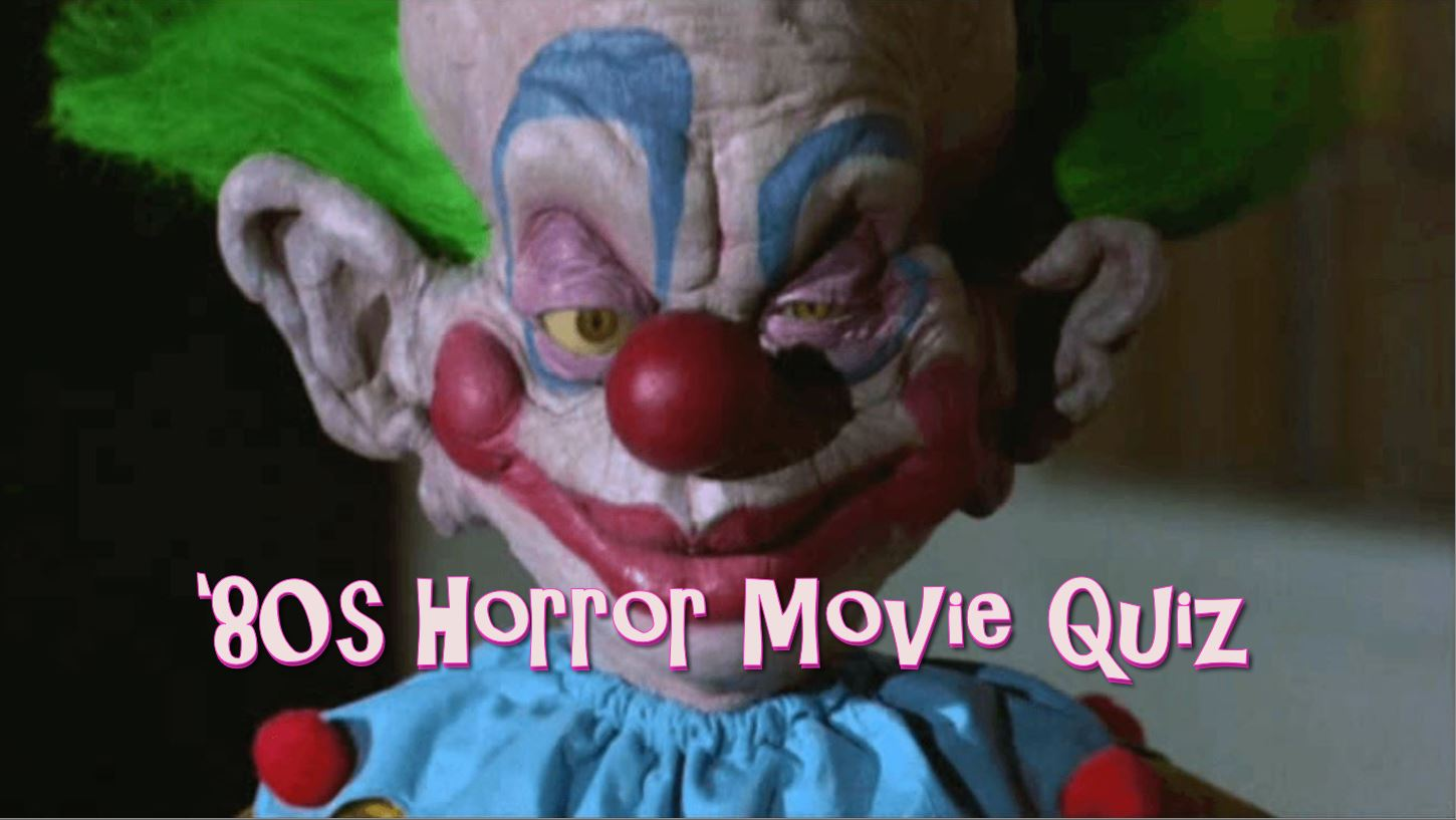The 80s Horror Movies Trivia Quiz Vol 3