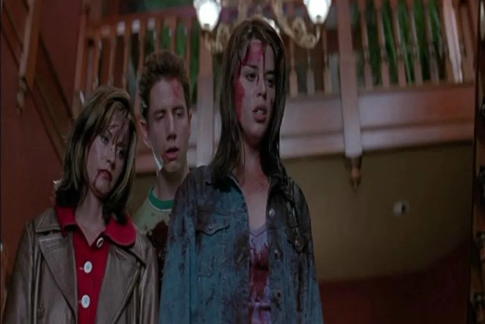 Fig. 4: The final girls (and Randy)