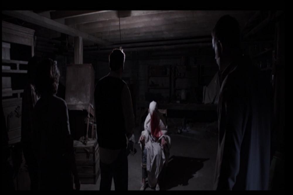 5. Carolyn in the cellar2
