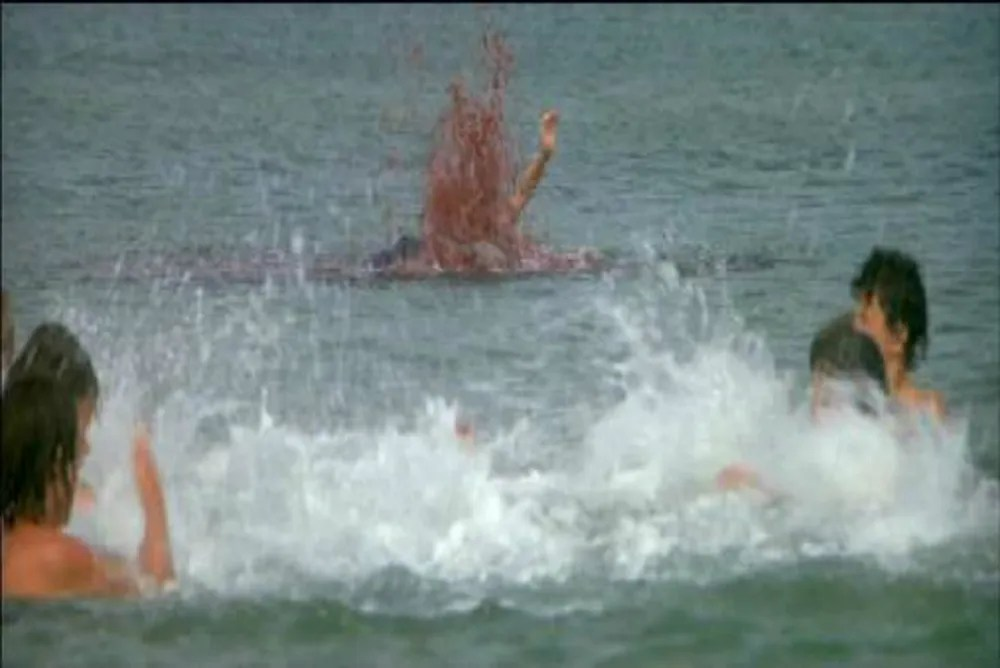 2. Jaws, death of Alex