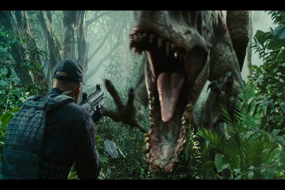 3. Jurassic World, Indominus