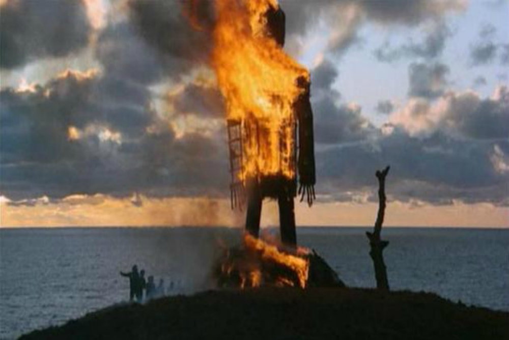 7. Wicker Man, sacrifice