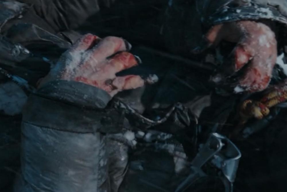 2. Everest, hands