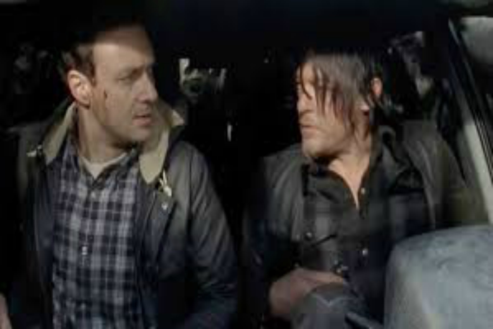 Aaron's relationship with Daryl was the one most shown and became a tool to illustrate daryl's growth